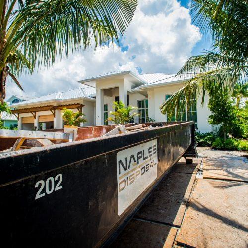Residential Dumpster Rentals | Naples Excavating - Southwest Florida Dumpster Rentals