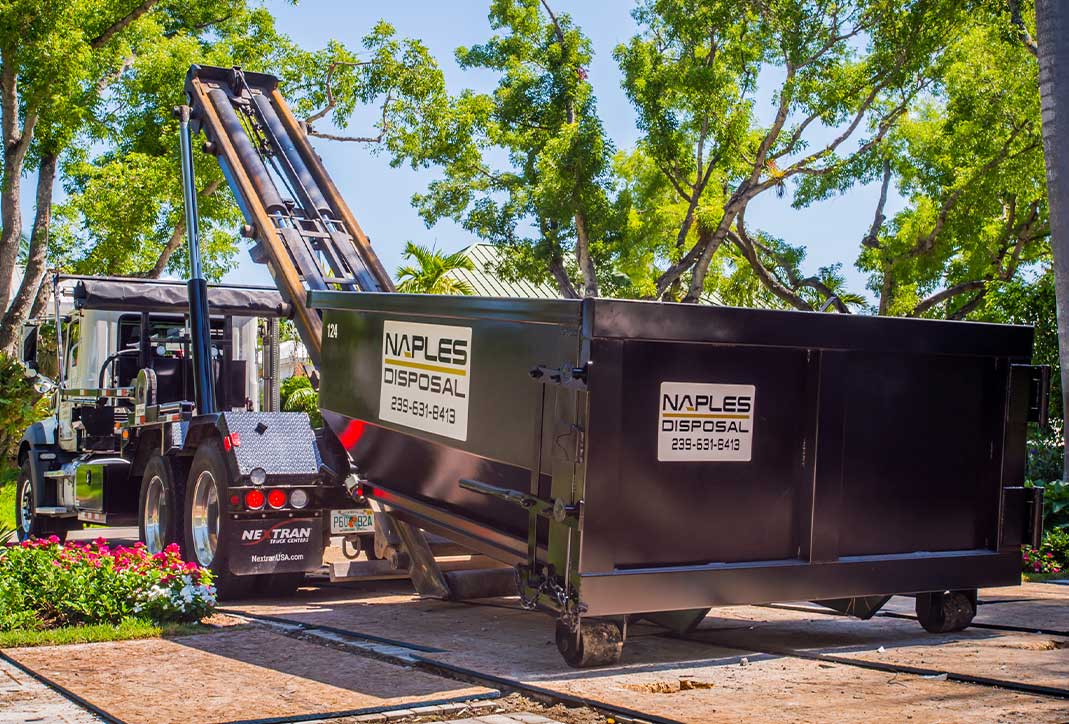 Dumpster Rental Drop Off | Naples Excavating & Disposal, LLC. - Southwest Florida Dumpster Rentals