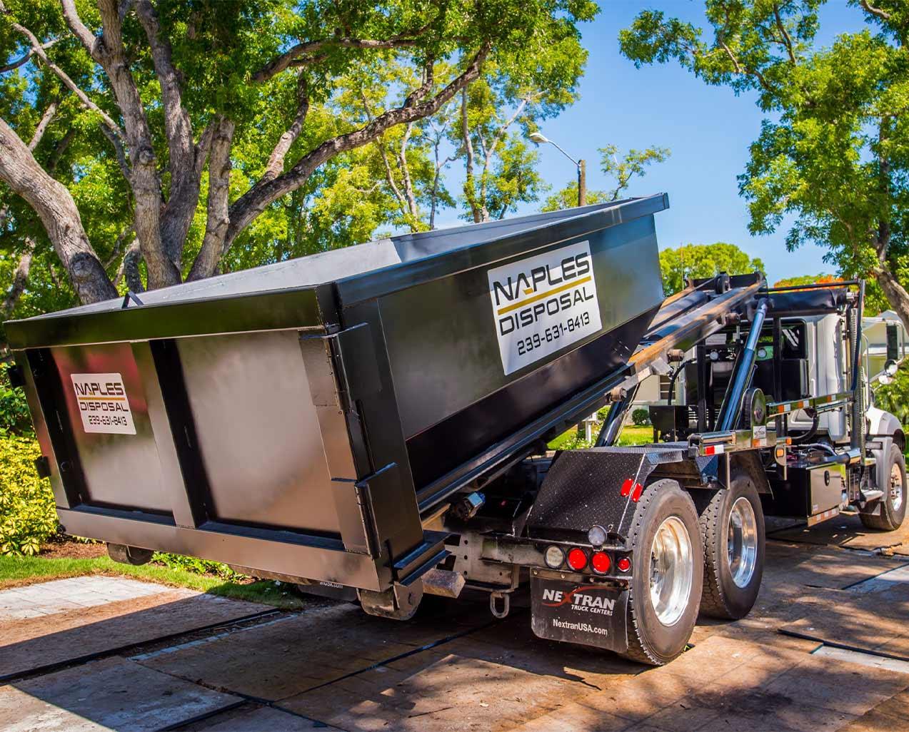 Roll Off Dumpster Rentals | Naples Excavating - Southwest Florida Dumpster Rentals