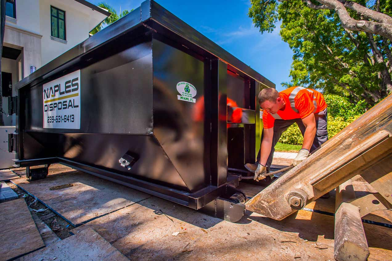 Naples Disposal Dumpster Rentals For Home And Business
